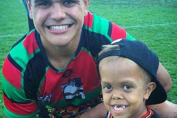Quaden Bayles has gotten support from Australia's National Rugby League.