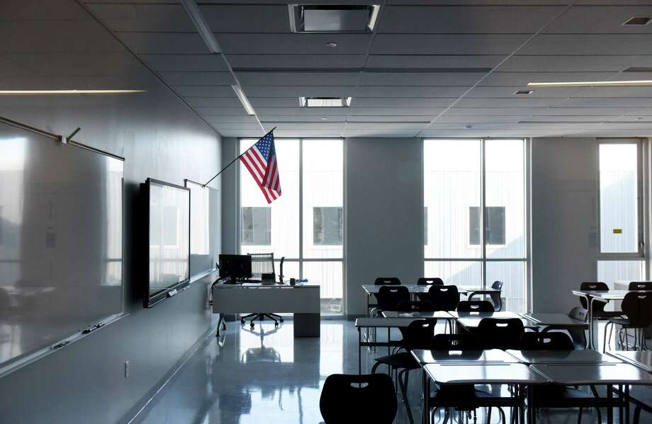 Classroom in the new Albany High School expansion on Friday, Feb. 21, 2020, in Albany, N.Y. The improvements are part of the first phase of the districtÕs $180 million renovation and expansion of the school. (Will Waldron/Times Union) Photo: Will Waldron, Albany Times Union / 40048871A