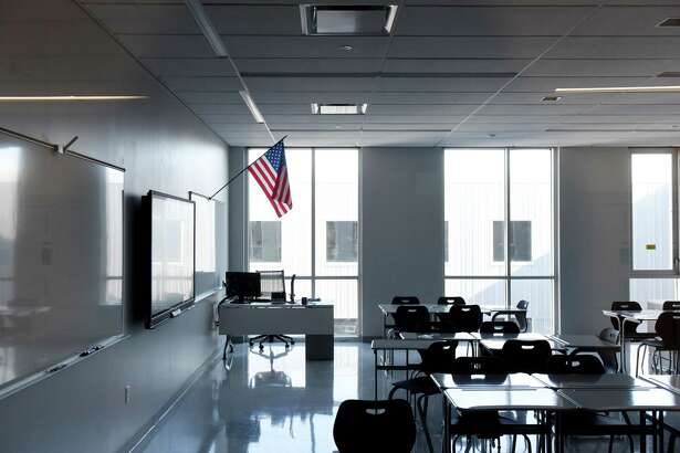 Classroom in the new Albany High School expansion on Friday, Feb. 21, 2020, in Albany, N.Y. The improvements are part of the first phase of the district?•s $180 million renovation and expansion of the school. (Will Waldron/Times Union)