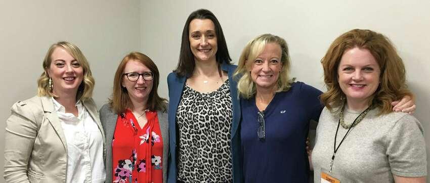 Women@Work breakfast, December 11, 2019. GE Women's Network Bragging Rights with Laura Hudy Joseph and Tiffany Westendorf