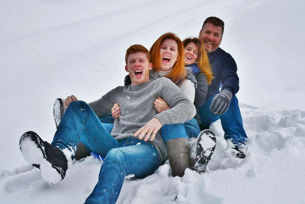 Marianne LaRoche and her family: Husband Bill, daughter Kelcie and son Eric.