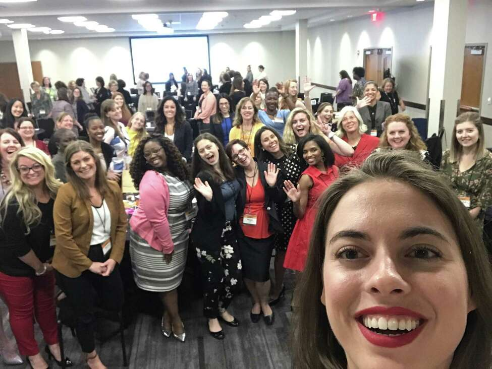 A selfie with some of the 2019 Women@Work Summit attendees. (Photo by Sara Tracey)