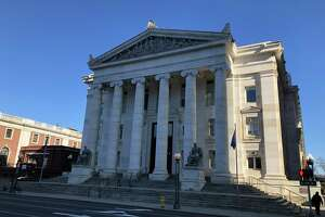 The New Haven GA 23 courthouse on Elm Street.