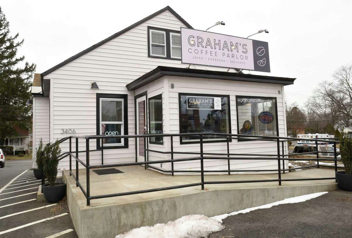 Exterior of Graham's Coffee Parlor on Friday, Jan. 31, 2020 in Schenectady, N.Y. (Lori Van Buren/Times Union)