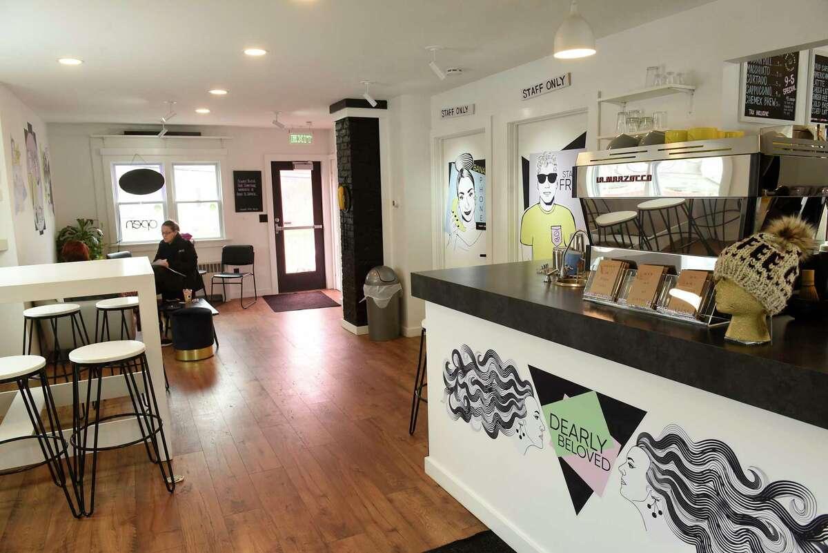 Interior of Graham's Coffee Parlor on Friday, Jan. 31, 2020 in Schenectady, N.Y. (Lori Van Buren/Times Union)