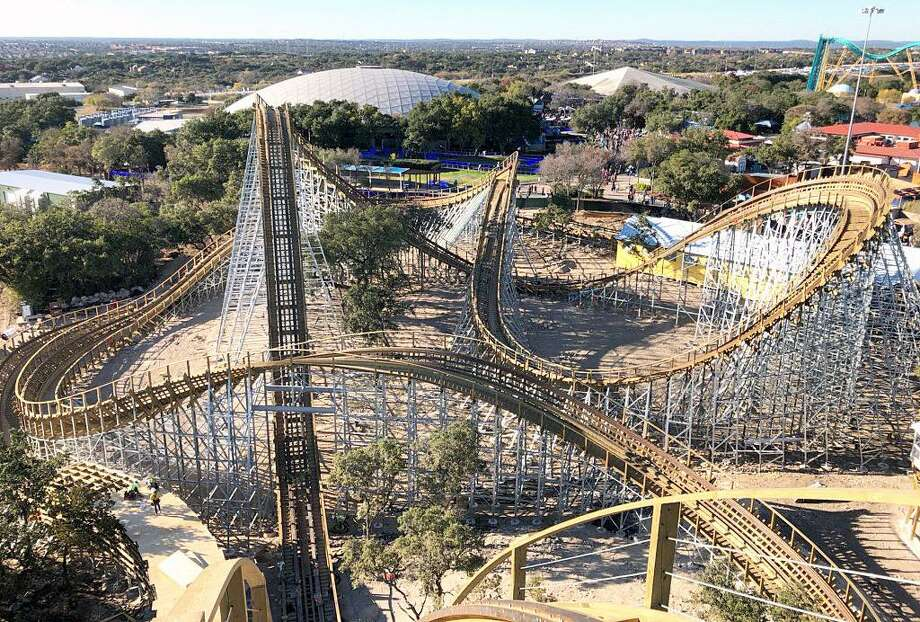 SeaWorld San Antonio recently opened the Texas Stingray, billed as Texas' tallest, fastest and longest wooden roller coaster. Visitors will soon get the ride the park's latest attraction after SeaWorld San Antonio announced on Wednesday it will reopen June 19. Photo: Courtesy SeaWorld /