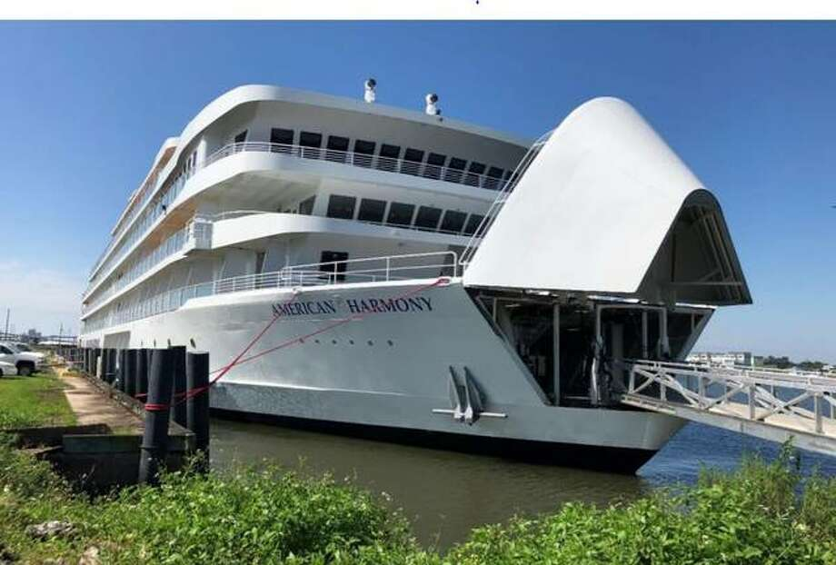 American Harmony, launched last year by American Cruise Lines, plans to dock twice in Alton this year. Two of the cruise lines' other boats, America and Queen of the Mississippi, also are scheduled to dock in Alton while its newest boat, American Jazz, is scheduled to make its inaugural Mississip River trip in August.