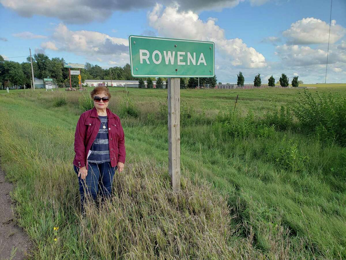 Rowena Plautz and her husband Jon, Katy residents, are in the process of visiting all nine towns named Rowena in the United States. They visited Rowena, SD, last spring.