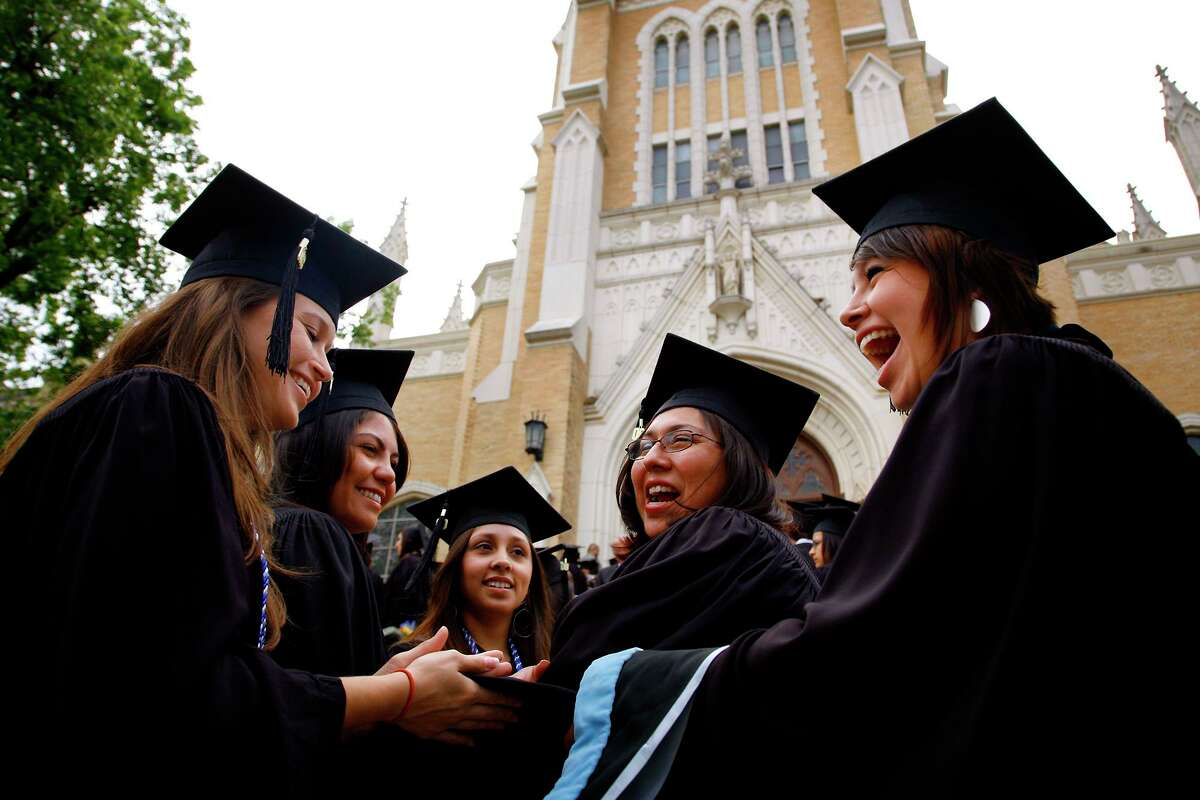 A study by the Council of Independent Colleges runs counter to reports of crushing student debt. Even at private universities such as OLLU, above, higher education is affordable.