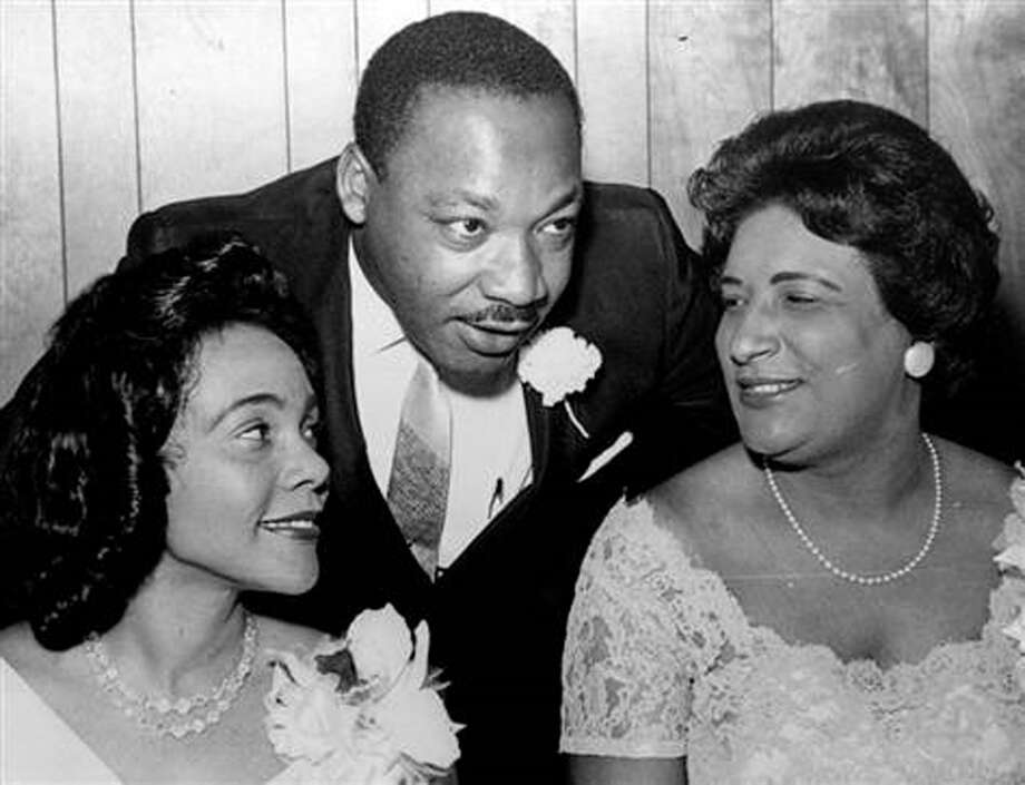 Coretta Scott King, Martin Luther King Jr. and Constance Baker Motley at the SCLC Convention honoring Rosa Parks in 1965. Perhaps moving Black History Month to warmer weather would open up a wealth of celebration. Photo: Contrbuted /AP Photo /