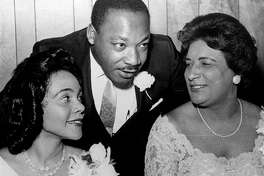 Coretta Scott King, Martin Luther King Jr. and Constance Baker Motley at the SCLC Convention honoring Rosa Parks in 1965. Perhaps moving Black History Month to warmer weather would open up a wealth of celebration.