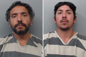 Two men were arrested on Wednesday for allegedly stealing a tailgate.