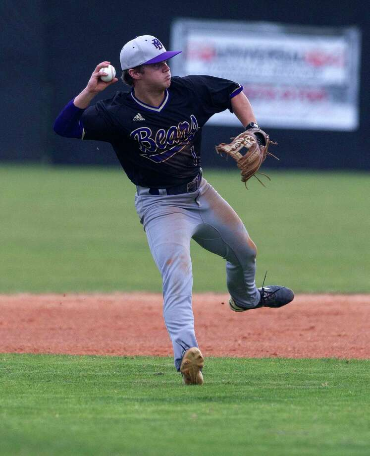 Montgomery second baseman Weston Dean will be one of the top returning players for the Bears this season. Photo: Jason Fochtman, Houston Chronicle / Staff Photographer / © 2019 Houston Chronicle