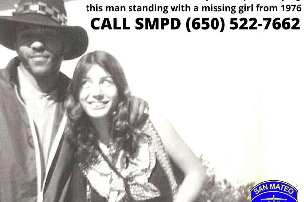 San Mateo police are hoping someone can identify this man wanted in connection with the disappearance of 17-year-old Sherry Roach in 1976.
