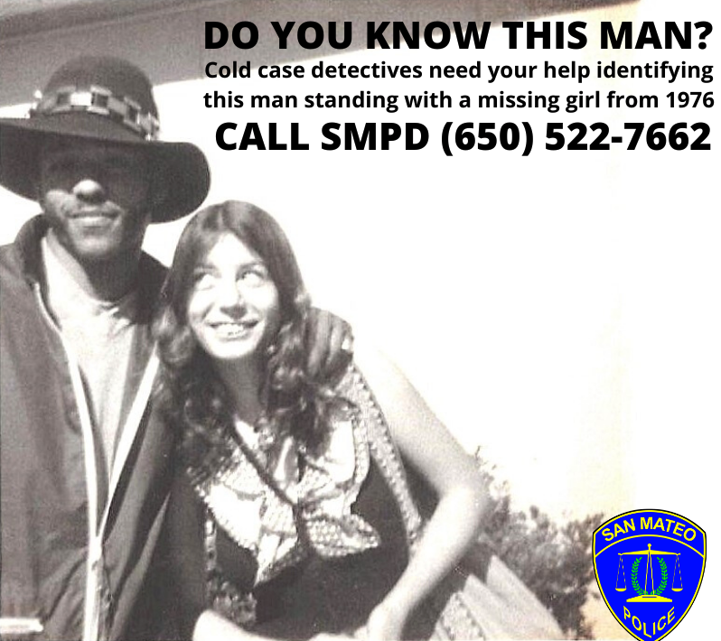 Do you know him? Photo of mystery man surfaces in 1976 missing girl cold case