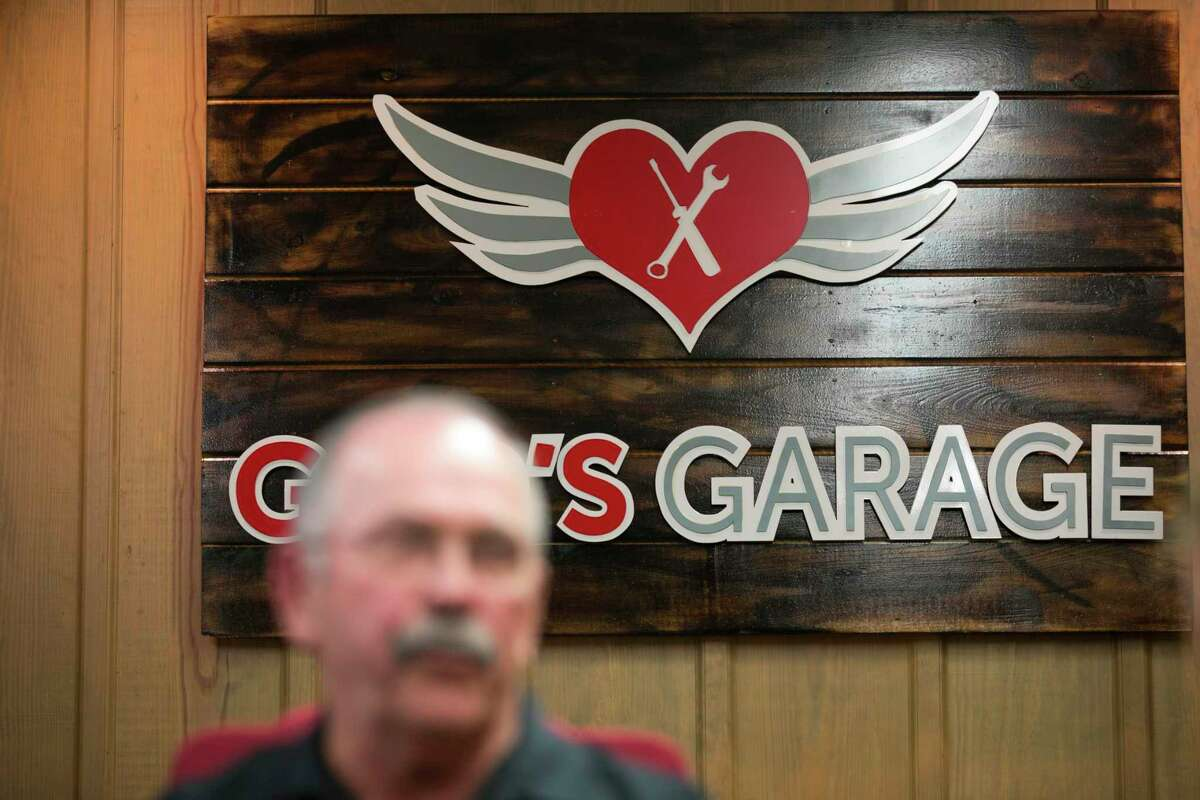 God's Garage president Harvey Yaw during the grand opening of the new God's Garage location on Saturday, Dec. 7, 2019, in Conroe, TX.