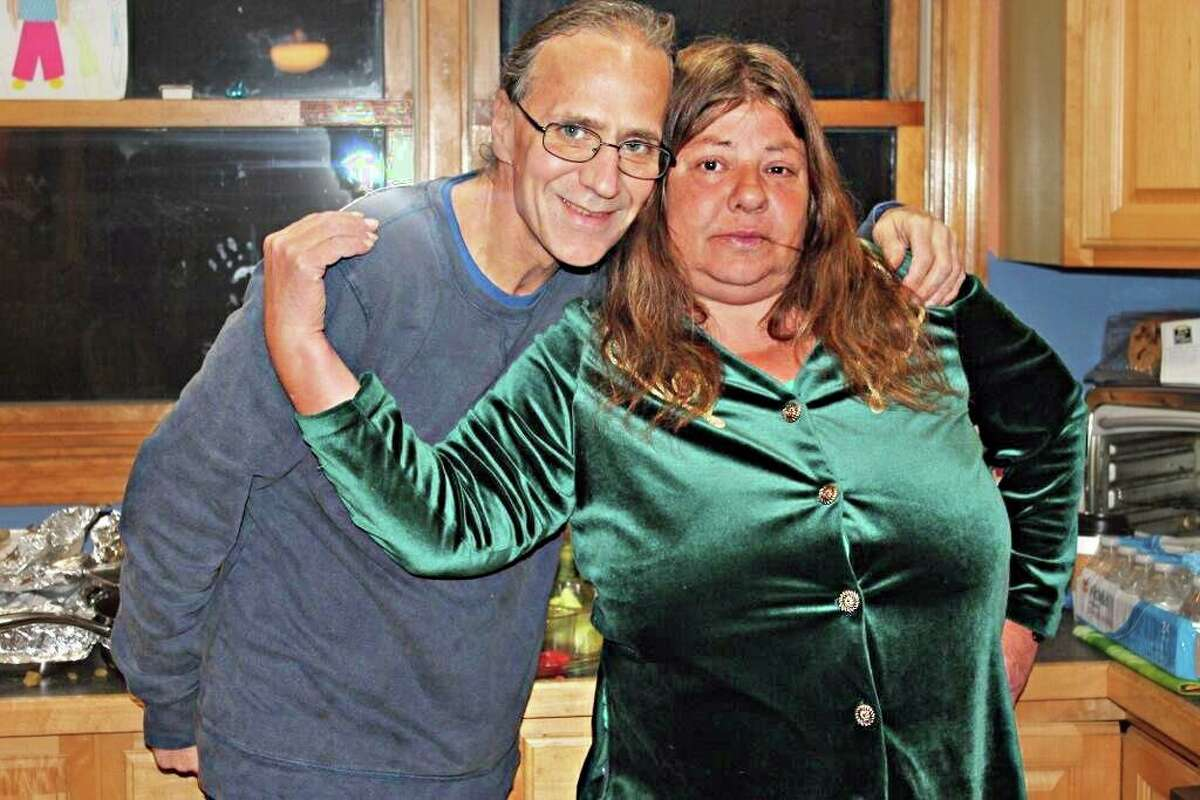Peter Recchia is shown here with his wife, Kathleen Recchia.