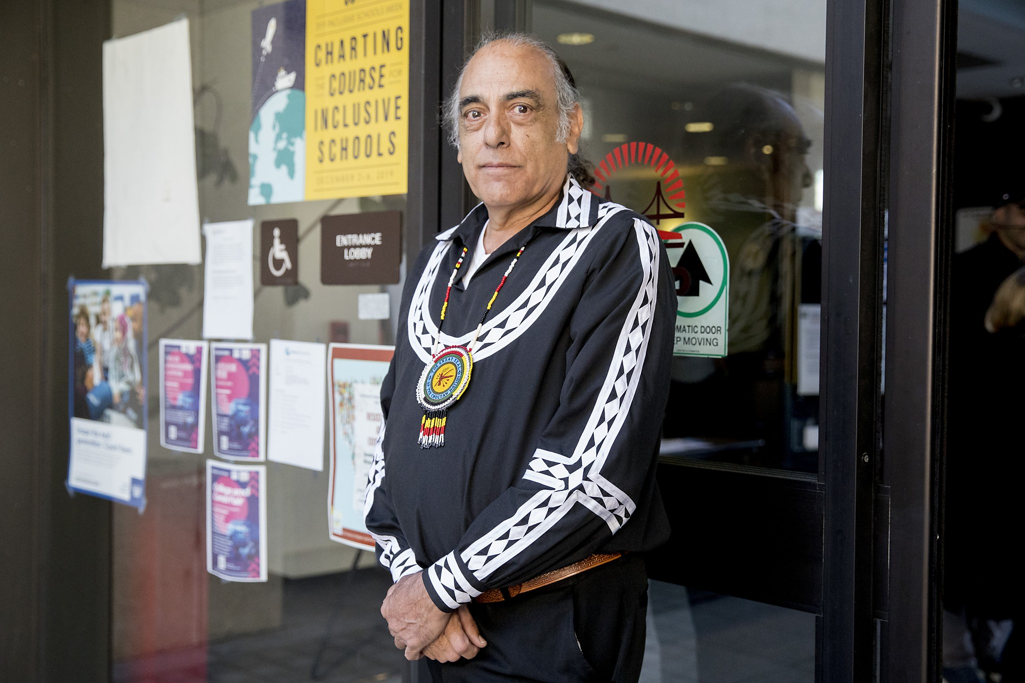 Native American elders call on SF school board to keep controversial mural on view