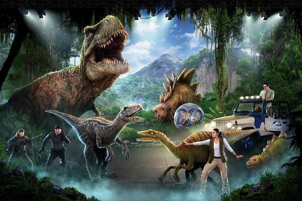 """Jurassic World Live Tour"" comes to Webster Bank Arena in Bridgeport March 5 - 8."