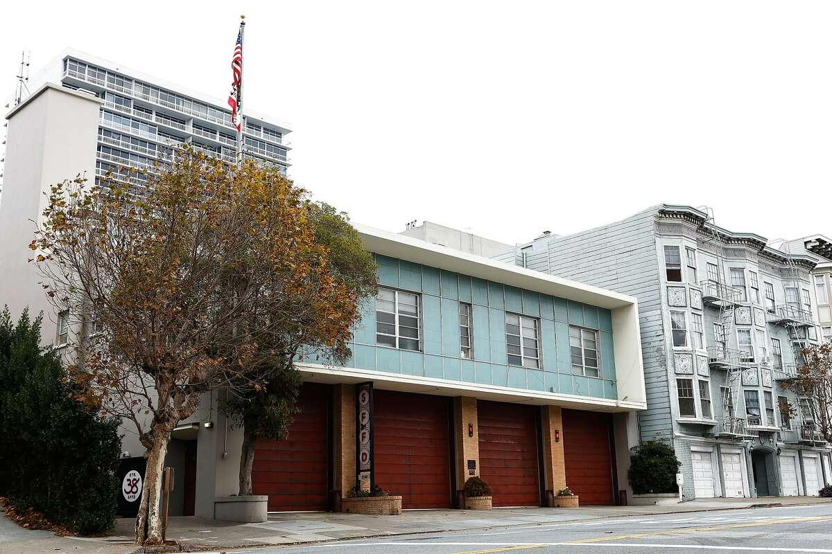 SFFD Fire Station No. 38 on Thursday, Nov. 14, 2019, in San Francisco, Calif.