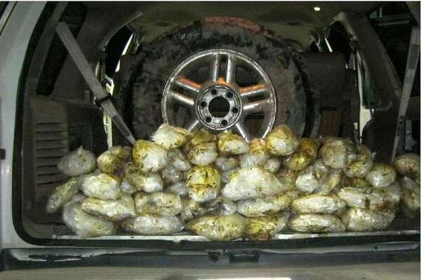 Pictured is 70 pounds of methamphetamine seized at a U.S. Border Patrol checkpoint in October, 2019.