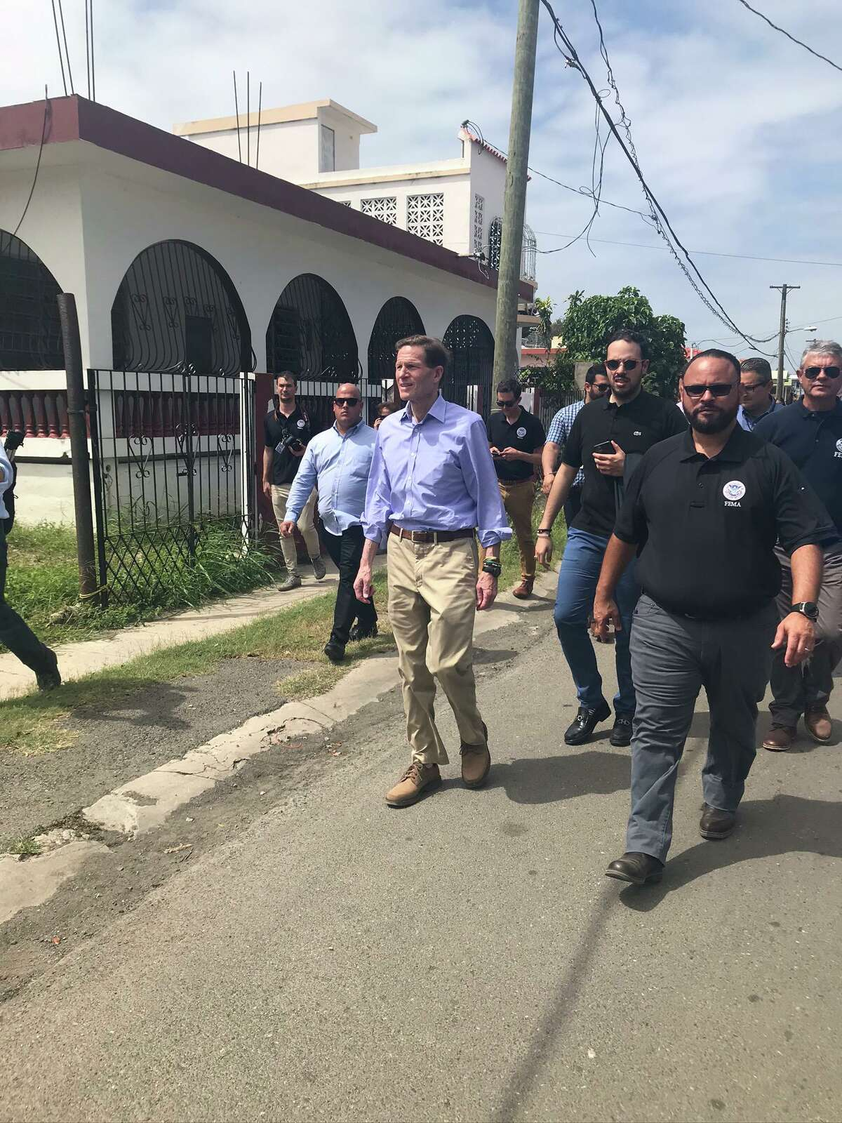 U.S. Sen. Richard Blumenthal was in Puerto Rico Friday, assessing the damage that has left so many people displaced. He spoke with local and federal officials about ongoing recovery efforts on the island and focused on the generational impact of Hurricane Maria and recent earthquakes on Puerto Rico's children and young people.