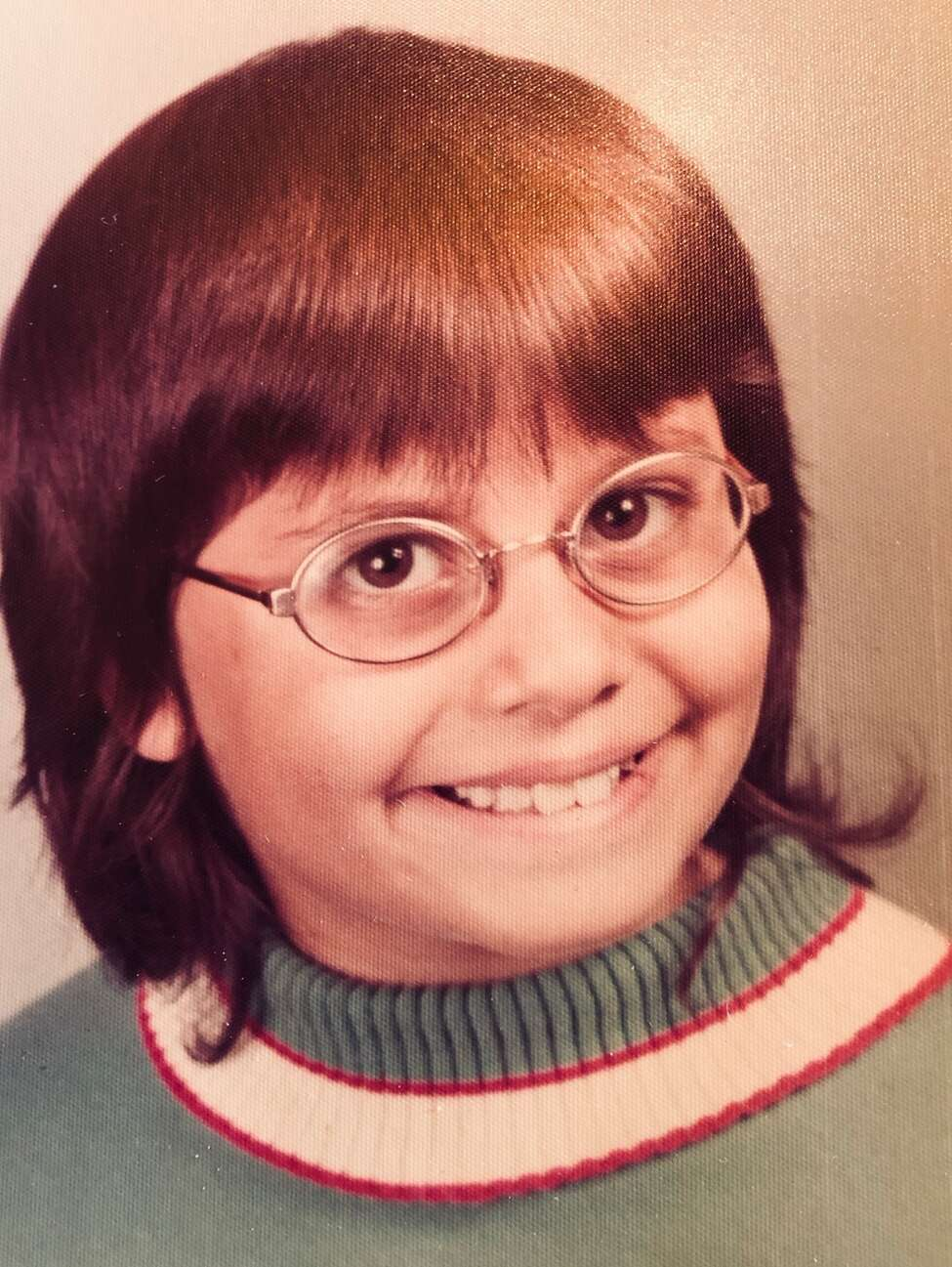 1. In third grade I attended Ben Franklin Elementary School where I honored the great man by wearing his spectacles.
