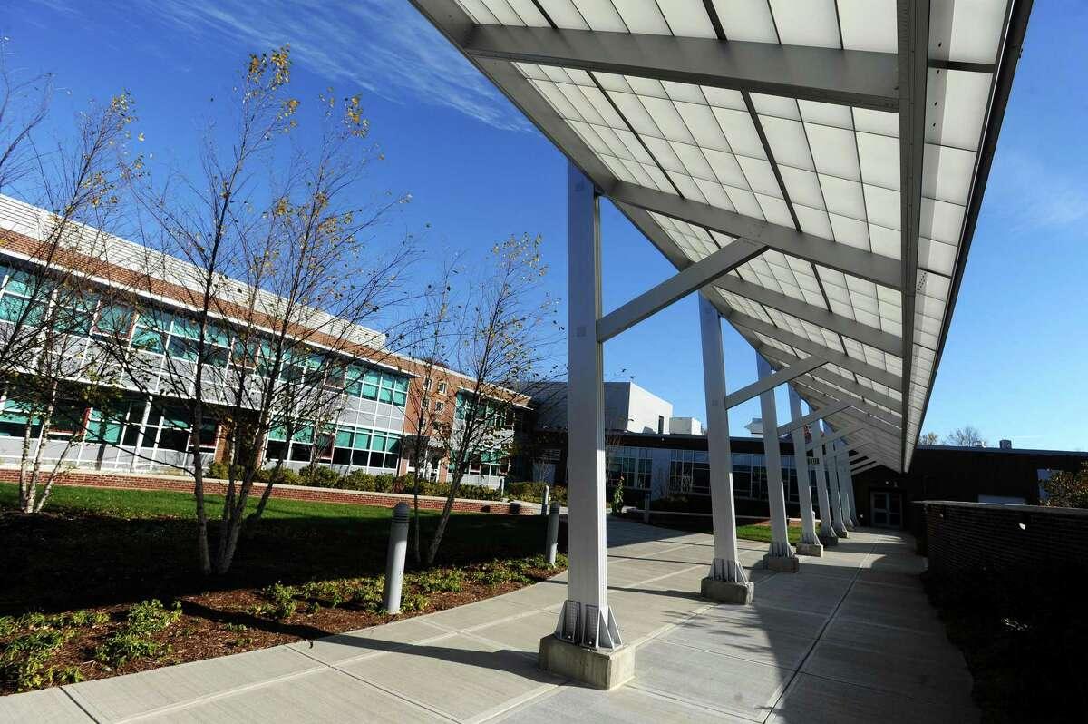 J.M. Wright Technical High School in Stamford, Conn. on Wednesday, Nov. 23, 2016.