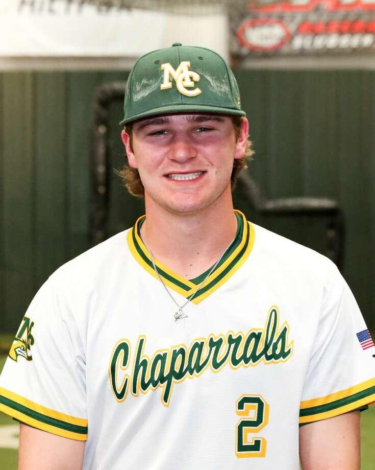 Midland College baseball player Zach Swindell Photo: Midland College Athletics