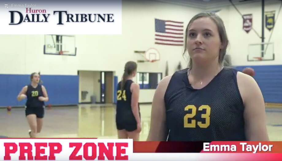 North Huron girls basketball player Emma Taylor is the Prep Zone Athlete of the Week.