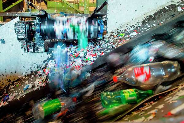 Plastic, most of which is made from oil and natural gas, is designed to be used just once, resulting in 300 million tons of plastic waste a year. Of that, just 8 percent was recycled in 2017, according to the EPA.