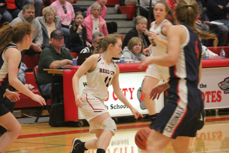 It was Big Rapids girls over Reed City 52-29 in CSAA action on Friday. Photo: John Raffel