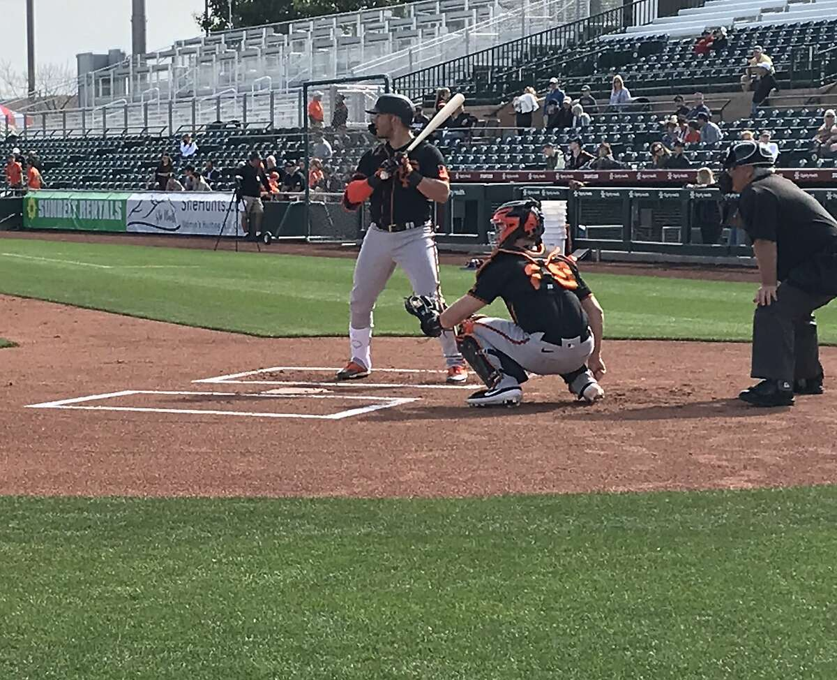 Yolmer Sanchez, taking live batting practice at Scottsdale Stadium on Friday, lost his job with the White Sox even after winning a 2019 Gold Glove.