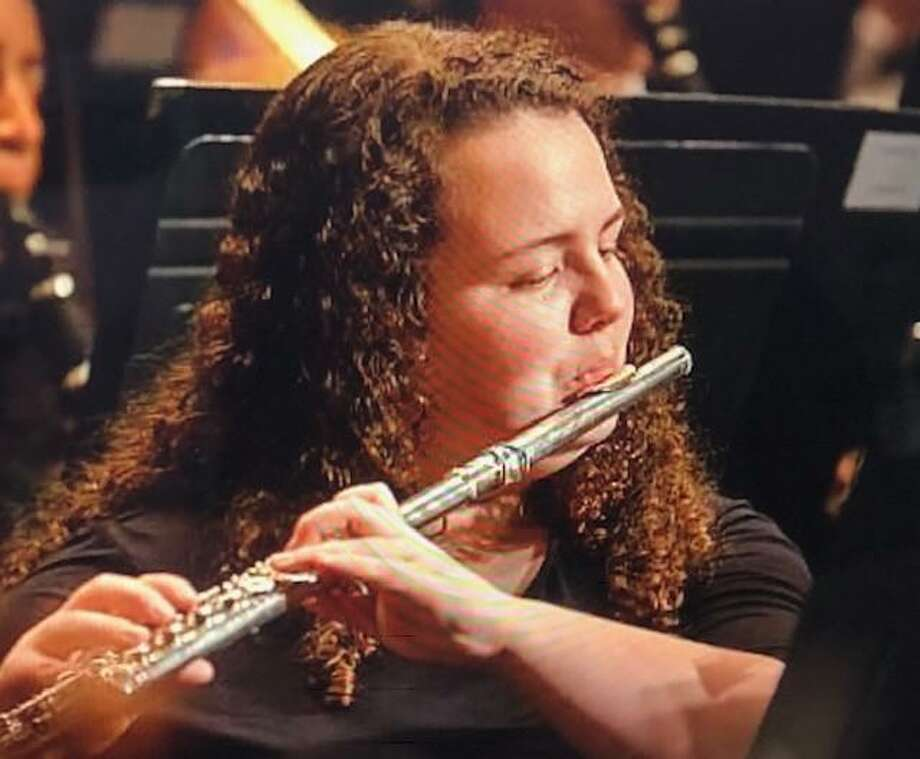 Flutist Karina Friend is a junior at Shelton High School. Photo: Contributed Photo / Connecticut Post