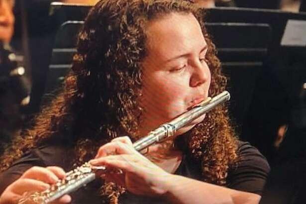 Flutist Karina Friend is a junior at Shelton High School.