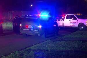 Two young people allegedly led police on a 50-minute, early-morning pursuit in a stolen pick-up truck around 4 a.m. Saturday in Houston, police said.