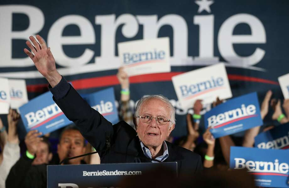 Democratic presidential candidate Sen. Bernie Sanders (I-VT) waves to supporters at a campaign rally for Sanders on February 21, 2020 in Las Vegas, Nevada. Photo: Mario Tama / Getty Images