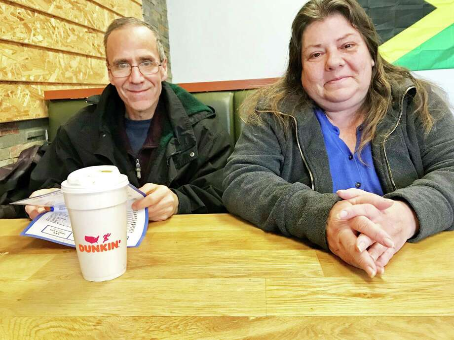 Peter Recchia is shown here with his wife Kathleen Recchia. Photo: Contributed Photo