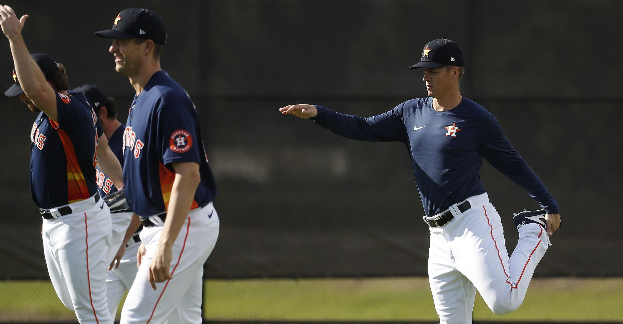 Zack Greinke arrives at Astros camp, wishes he knew years ago that report dates weren't mandatory
