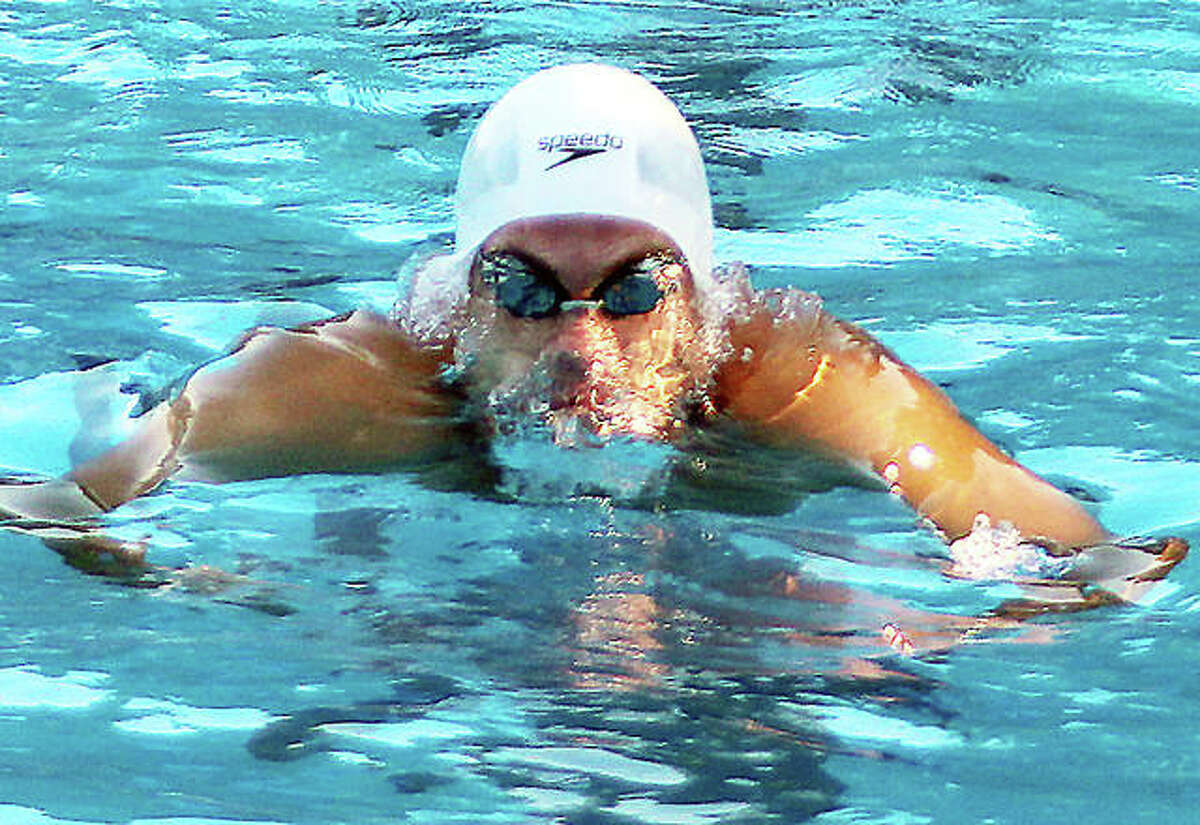 Alton's Noah Clancy qualified or the IHSA Boys State Swim Meet next weekend by winning a pair of events Saturday at the Springfield Sacred Heart-Griffin Sectional. Clancy, a senior, won the 200-yard individual medley and the 1000yard backstroke and will swim those events at the state meet.