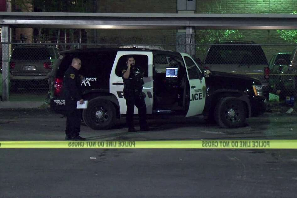 A woman is now in a fight for her life after she was shot in the head in a drive-by shooting at a Gulfton-area shopping mall.