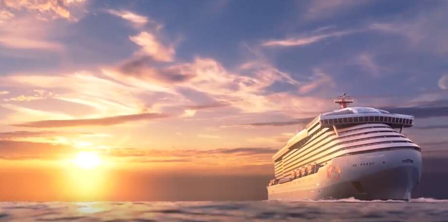 "Scarlet Lady, unveiled in Dover, England, on Friday and the first of four new vessels that will form the Virgin Voyages fleet, aims to bring ""the luxe experience of a boutique hotel to the sea,"" Richard Branson said in a statement. Photo: Virgin Voyages"