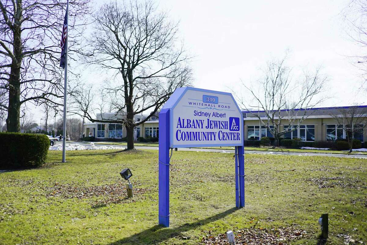 A view of the Albany Jewish Community Center on Sunday, Feb. 23, 2020, in Albany, N.Y.  (Paul Buckowski/Times Union)