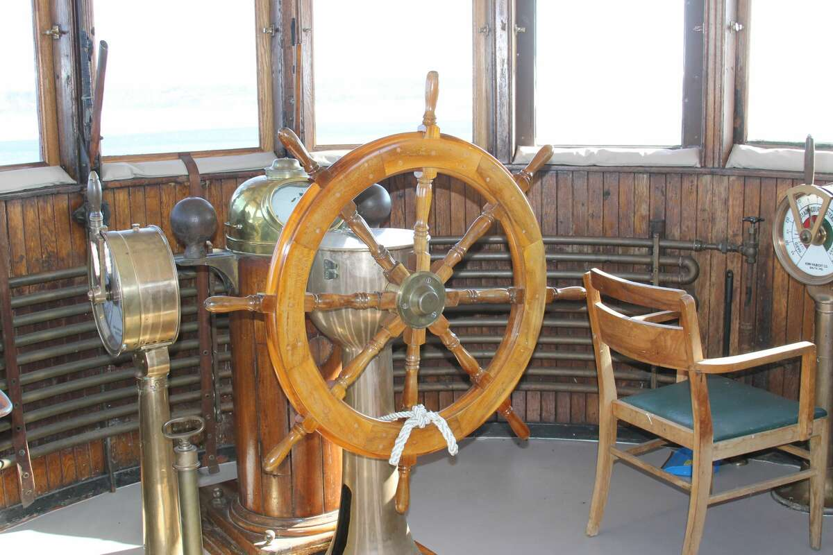 Volunteers have been busy throughout the winter with projects on the SS City of Milwaukee, cleaning, shining and repairing, in preparation for the upcoming season.