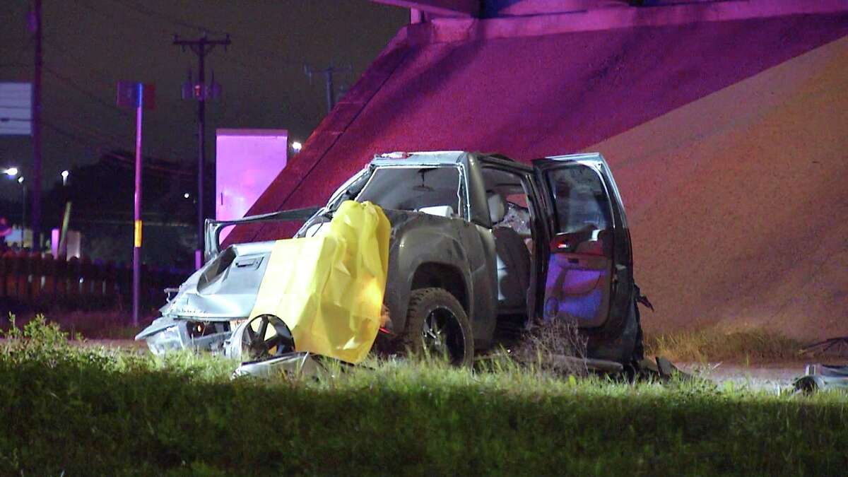 One man was killed and two people were injured in a crash on near Loop 1604 and Interstate 10.