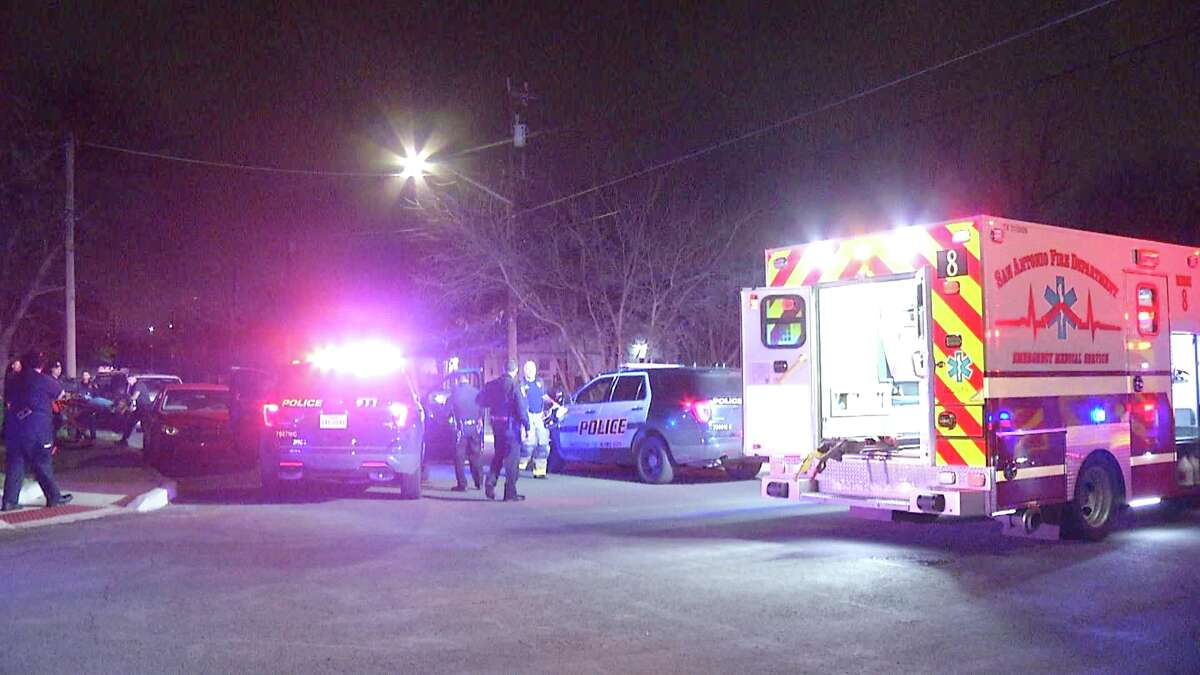 A teenager allegedly shot a family member and fled early Sunday morning, police said.