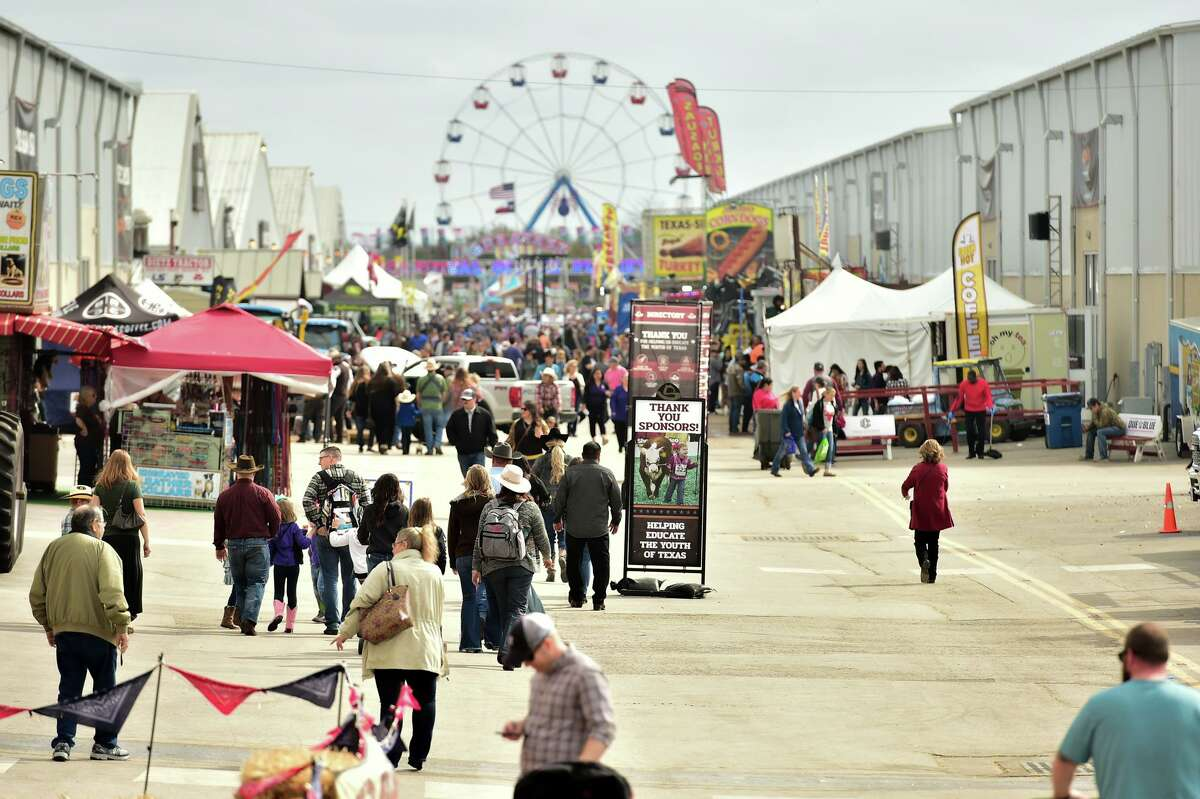 There's no admission fee for the carnival. However, carnival ride wristbands are available for $12 online and at the fairgrounds.  The carnival grounds will have about 40 rides, games, merchandise booths and fair food.