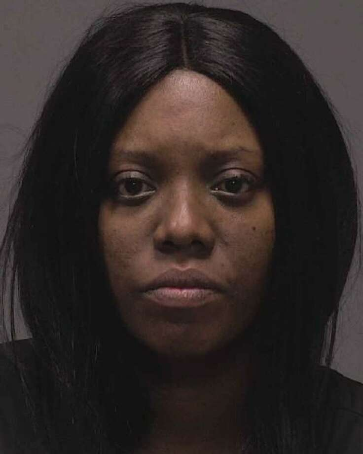Lucille Patterson, 37, who was arrested and charged for allegedly striking a pedestrian while driving distracted and under the influence. Photo: / New Haven Police Department