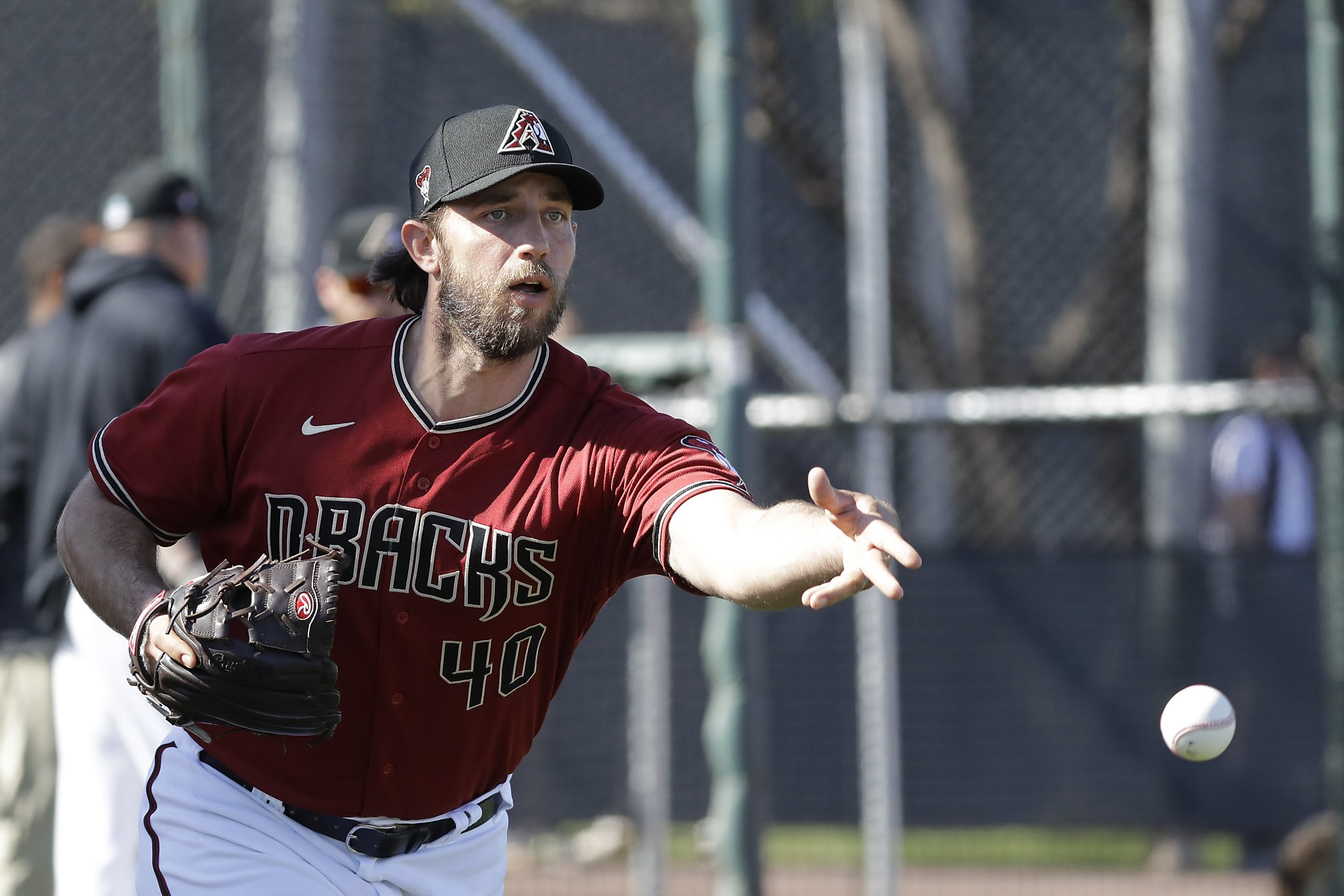 Madison Bumgarner strikes out four, allows homer in two-inning D'backs debut
