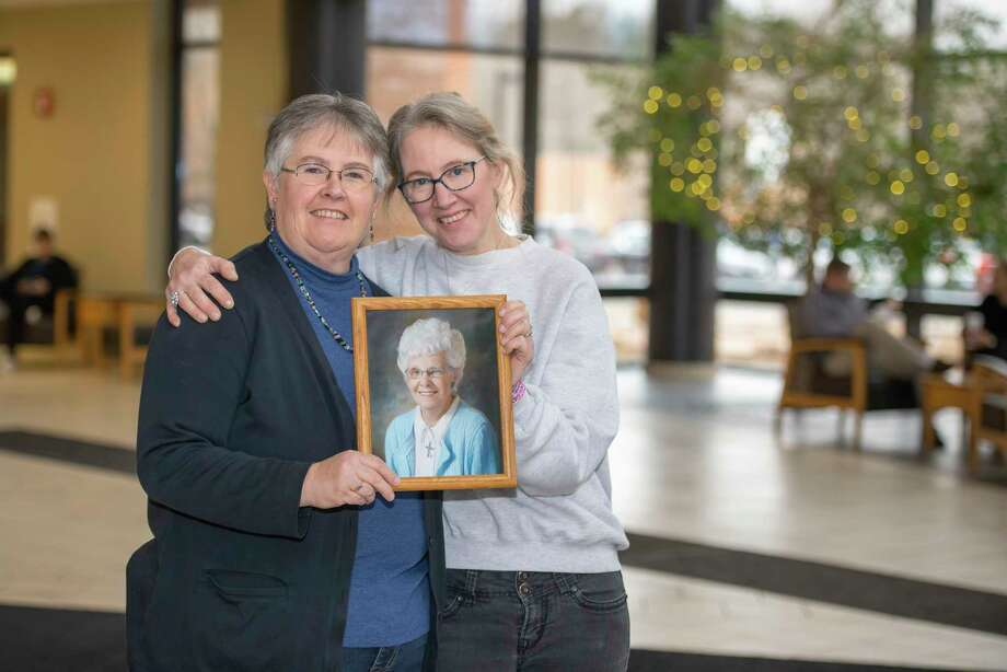 Renee Hahn and her sister, Tracey Birdsall, were thankful for the compassionate hospice care their mom received through MidMichigan Home Care that allowed her to live a fulfilling end of life. (Photo provided/MidMichigan Health)